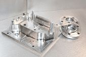 image of mechanical engineering  - Metal mold - JPG