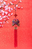picture of chinese new year horse  - Traditional chinese knot - JPG