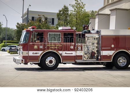 Beverly Hills,CA, 2015 The Fire Departmentâ??s  has a  Class I rating from the Insurance Services Office, an elite distinction carried by only a few fire departments in the nation.