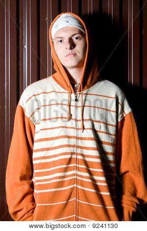 Portrait Of Teenage Criminal