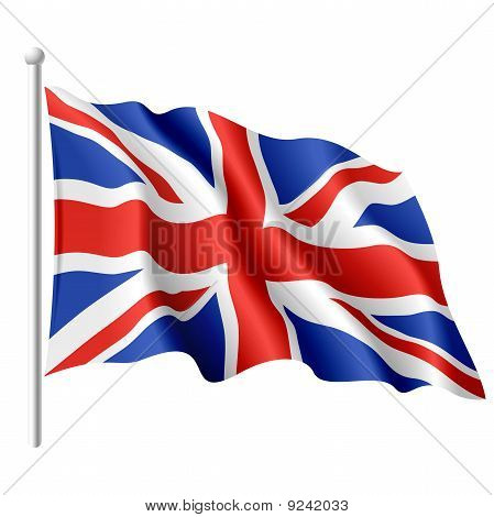 Flag of the United Kingdom. Vector.