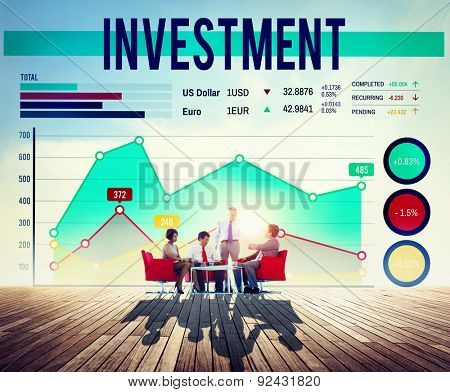 Invest Investment Fund Revenue Income Concept