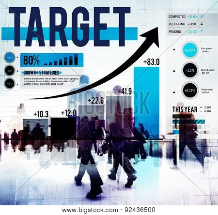 Target Goal Aim Reach Objective Business Concept