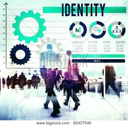 Identity Trademark Copyright Design MArketing Concept