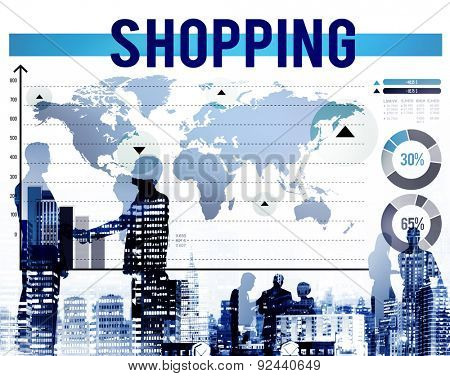 Shopping Buying Purchase Marketing Sale Concept