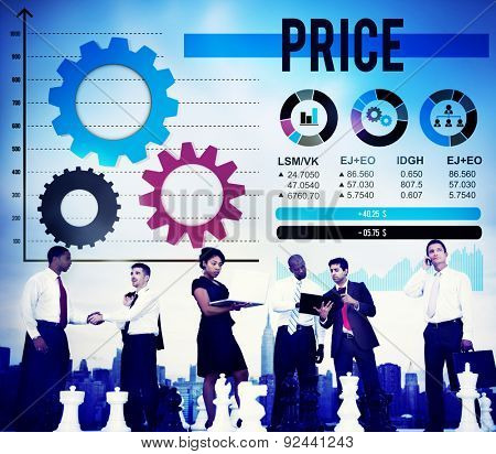 Price Cost Product Money Shopping Value Concept