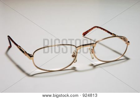 Open Eyeglasses