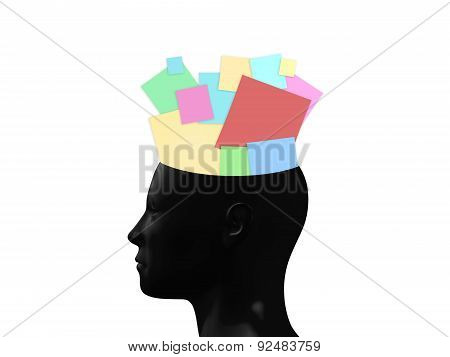 Sticky Notes In Head