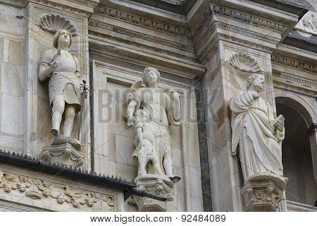Detail Of Renaissance Facade