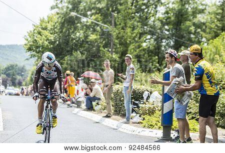 The Cyclist Blel Kadri - Tour De France 2015