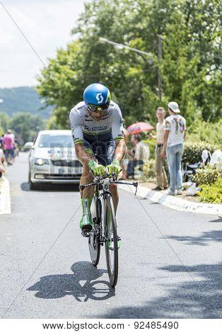 The Cyclist Michael Albasini - Tour De France 2014