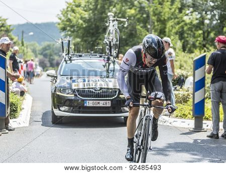 The Cyclist Markel Irizar - Tour De France 2014