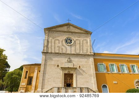 The Church Of San Pietro In Montorio In Rome, Italy.
