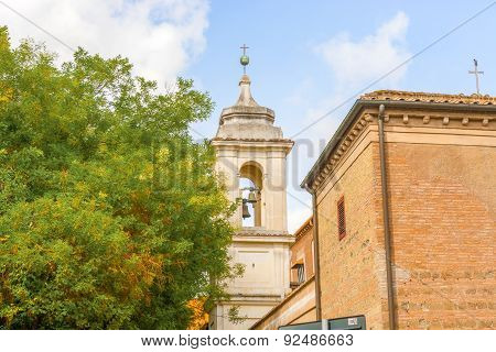 The Basilica Of Saint Clement In Rome, Italy