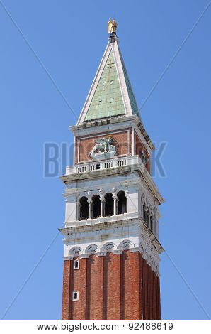 Saint Marcus Tower in Venice