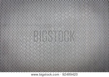 Grey Metal Grate Texture Background