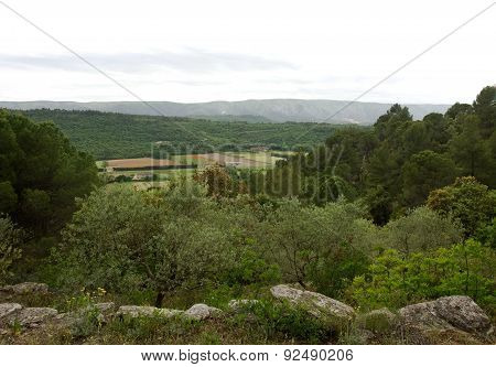 Landscape View of Provence