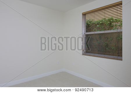 Small room with a window