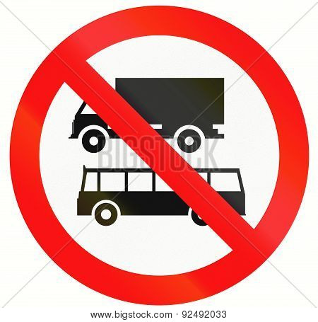No Lorries And Buses In Indonesia