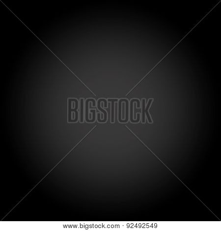 Abstract Dark Black gradient monitized Studio background
