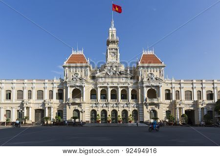 The City Hall of Ho Chi Minh City, Vietnam