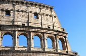 Detailed view of Colosseum