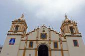 stock photo of apostolic  - Cathedral church of Santiago Apostol in Santiago Panama - JPG