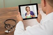 image of video chat  - Close - JPG