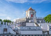 stock photo of reign  - Phra Sumen Fort Bangkok - JPG