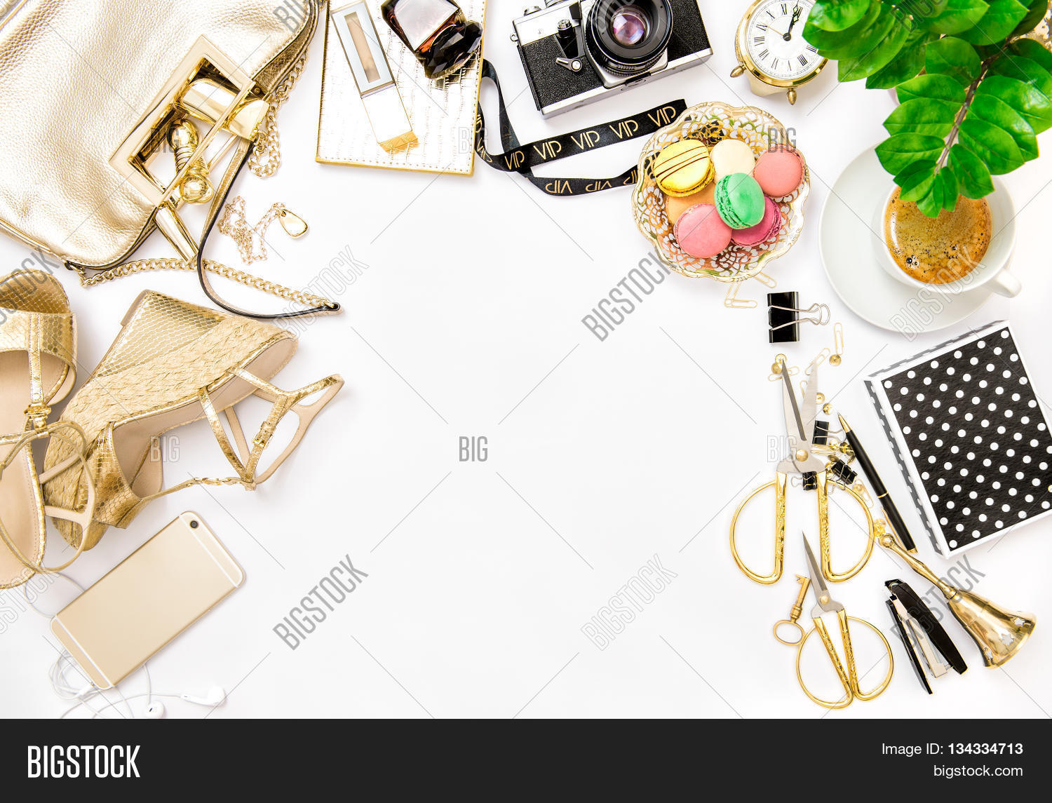Flat Lay Photography Shoes