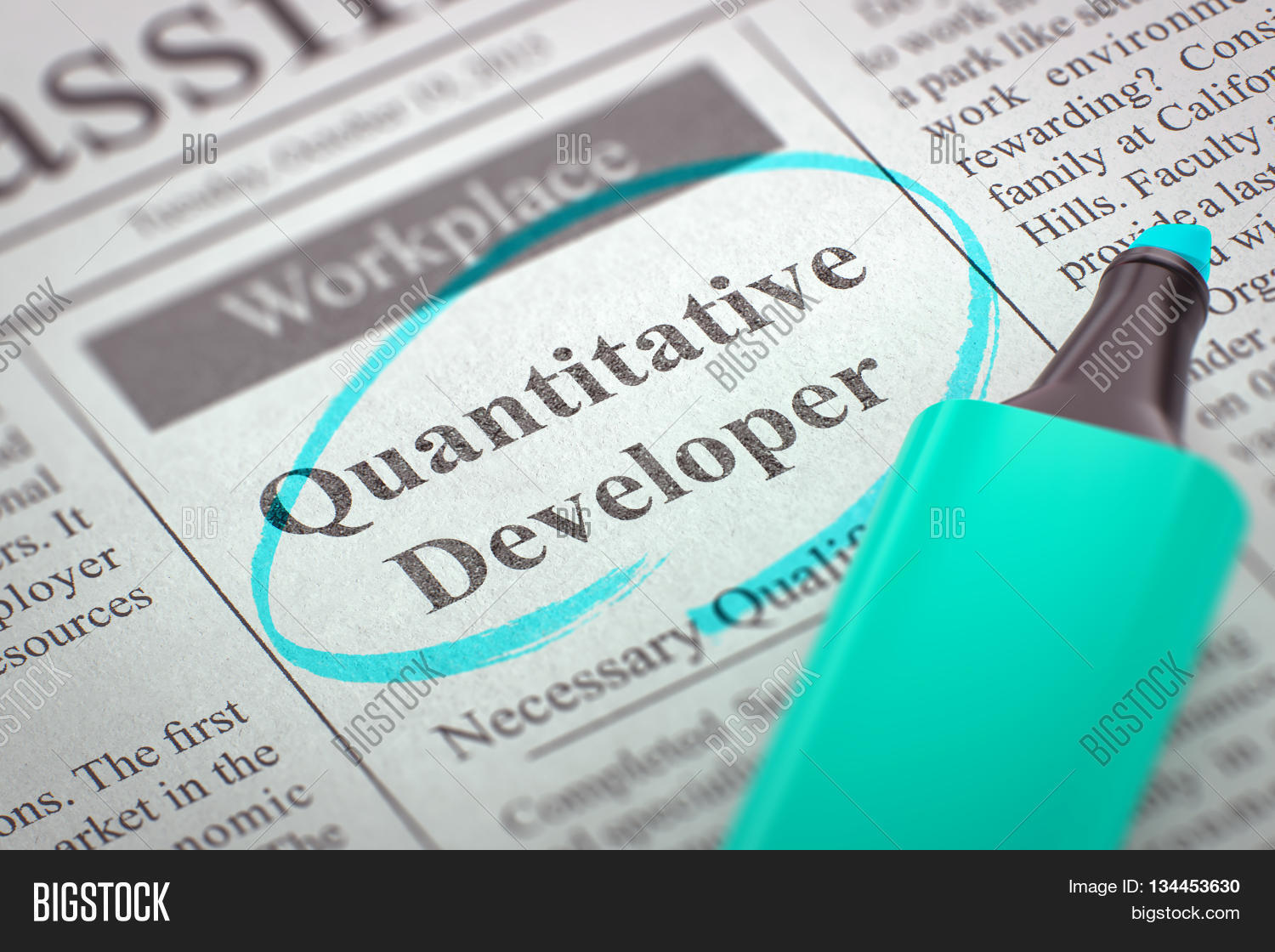 how to become a quantitative developer