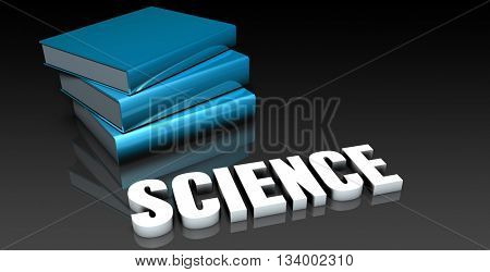Science Class for School Education as Concept 3d Illustration Render