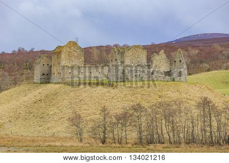 The Historical Ruthven Barracks