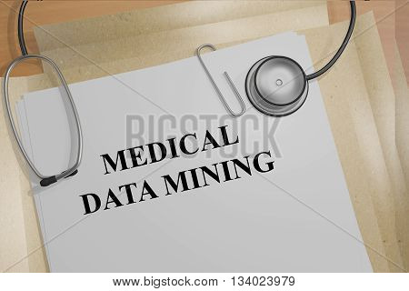 Medical Data Mining Medical Research Concept