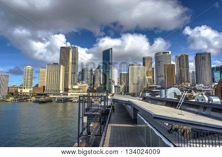 Sydney Downtown At Circular Quay
