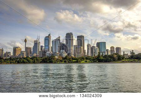 Sydney Skyline In Daytime