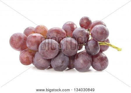 Red Grapevine Fresh Juicy Fruit