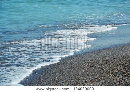Sea Beach Blue Waves Ocean Sand Shells Summer 3