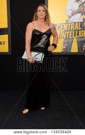 LOS ANGELES - JUN 10:  Dany Garcia at the Central Intelligence Los Angeles Premiere at the Village Theater on June 10, 2016 in Westwood, CA