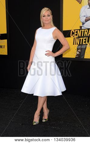 LOS ANGELES - JUN 10:  Elisabeth Rohm at the Central Intelligence Los Angeles Premiere at the Village Theater on June 10, 2016 in Westwood, CA