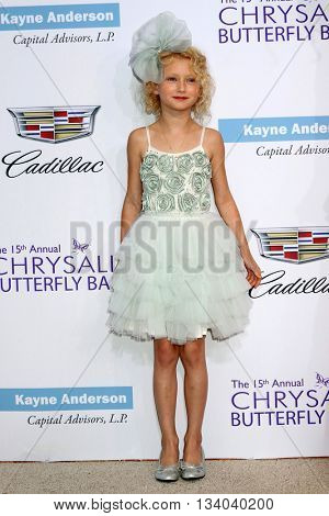 LOS ANGELES - JUN 11:  Billie Beatrice Dane at the 15th Annual Chrysalis Butterfly Ball at the Private Residence on June 11, 2016 in Brentwood, CA