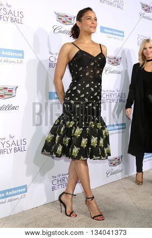 LOS ANGELES - JUN 11:  Paula Patton at the 15th Annual Chrysalis Butterfly Ball at the Private Residence on June 11, 2016 in Brentwood, CA