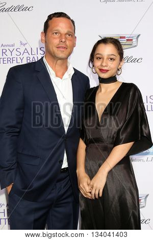 LOS ANGELES - JUN 11:  Justin Chambers, Daughter at the 15th Annual Chrysalis Butterfly Ball at the Private Residence on June 11, 2016 in Brentwood, CA