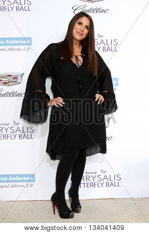 LOS ANGELES - JUN 11:  Soliel Moon Frye at the 15th Annual Chrysalis Butterfly Ball at the Private Residence on June 11, 2016 in Brentwood, CA