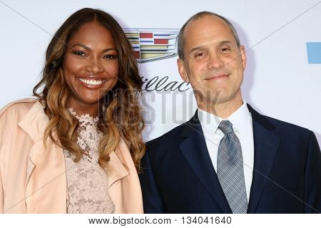 LOS ANGELES - JUN 11:  Tracy James, Brian Robbins at the 15th Annual Chrysalis Butterfly Ball at the Private Residence on June 11, 2016 in Brentwood, CA