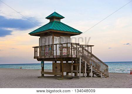 Sunset In Sunny Islands, Miami