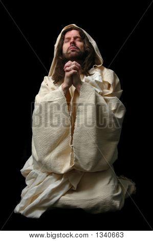 Jesus In Prayer_Full Body