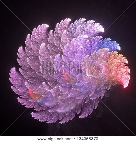 A fractal is a natural phenomenon or a mathematical set that exhibits a repeating pattern that displays at every scale.