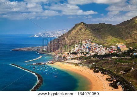 San Andres And Las Teresitas Beach