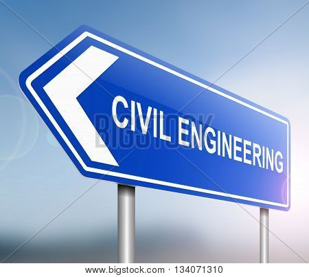Civil Engineering Concept.